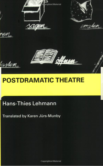 Postdramatic Theatre Hans-Thies Lehmann