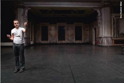 In Performance: Philipp Gehmacher - walk + talk no. 7