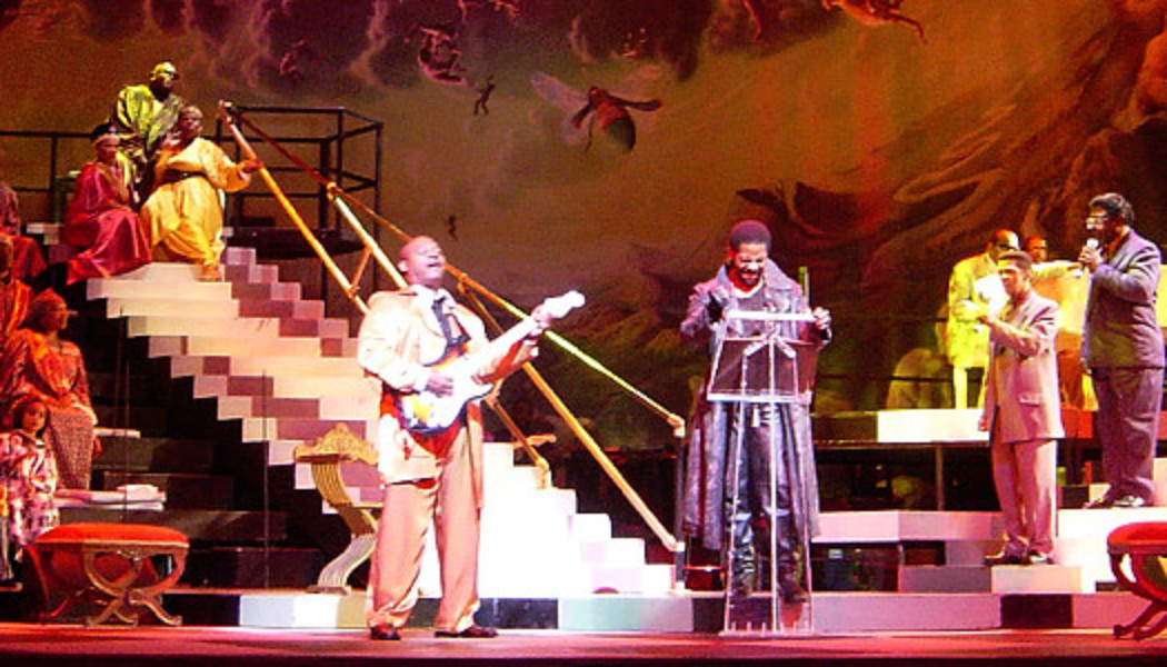 In Performance: The Gospel at Colonus at the Edinburgh International Festival August 21-23