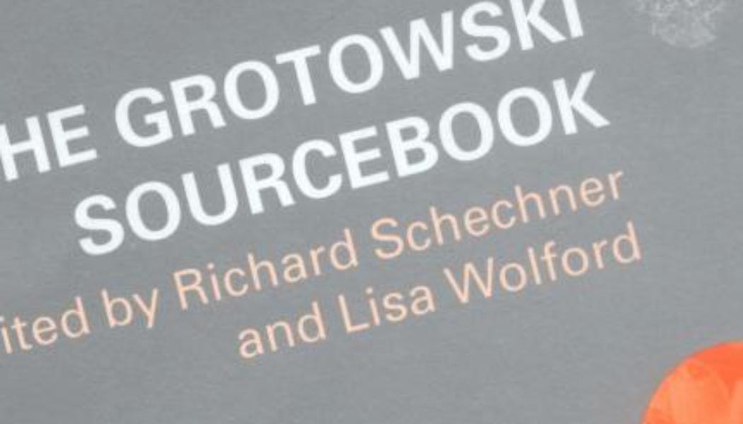 Books: The Grotowski Sourcebook
