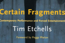Books: Certain Fragments: Texts and Writings on Performance