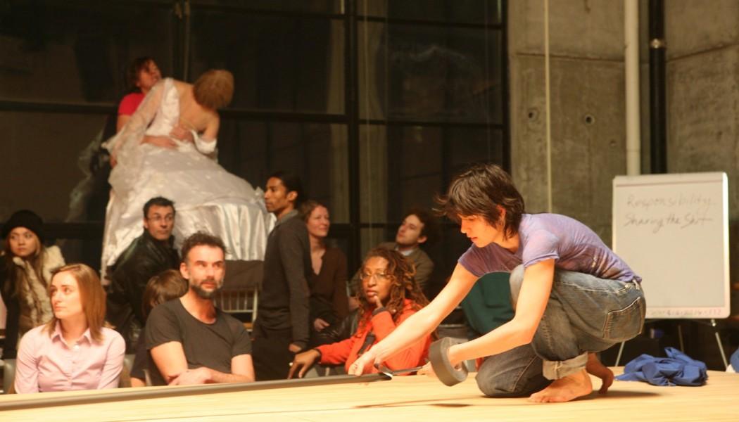 In Performance: Meg Stuart's Auf den Tisch! at YBCA (San Francisco)