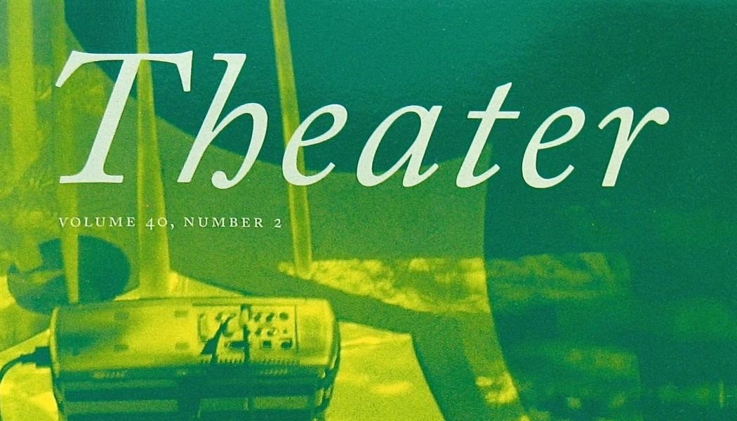 Books: Tom Sellar, Editor of Theater Magazine. Video