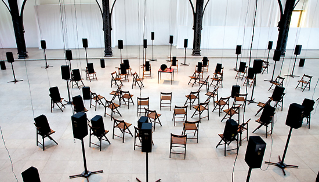 In Performance: Janet Cardiff & George Bures Miller – THE MURDER OF CROWS  (NYC)