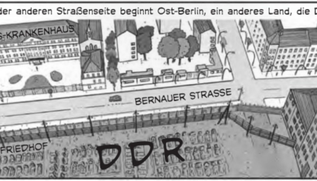 In Performance: Reading Of The Graphic Novel, Berlin — Geteilte Stadt (Berlin)