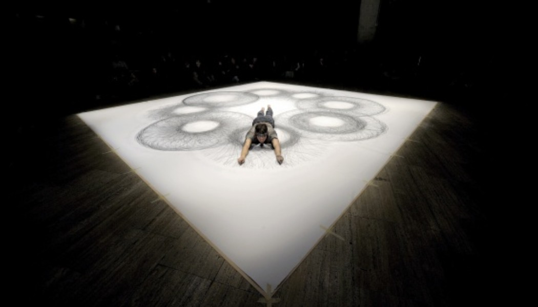 In Performance: Tony Orrico's Penwald -15 – fourths and quarters (NYC)