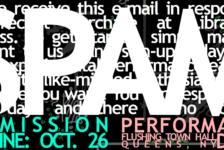 In Performance: thingNY's SPAM v.3.0