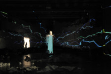 Education: MFA in Video & Media Design at Carnegie Mellon School of Drama