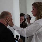 In Performance: RU EVENT: INTERPERSONAL DISTANCE, a performance by Jolanda Jansen (Brooklyn/NY)