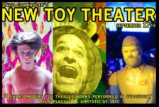 In Performance: David Commander's New Toy Theater (NYC)
