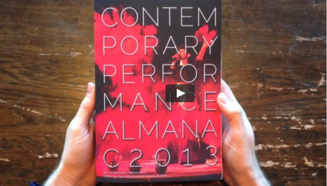 Be A Part Of The Contemporary Performance Almanac 2015