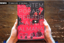 Opportunities: Be In The Contemporary Performance Almanac 2015
