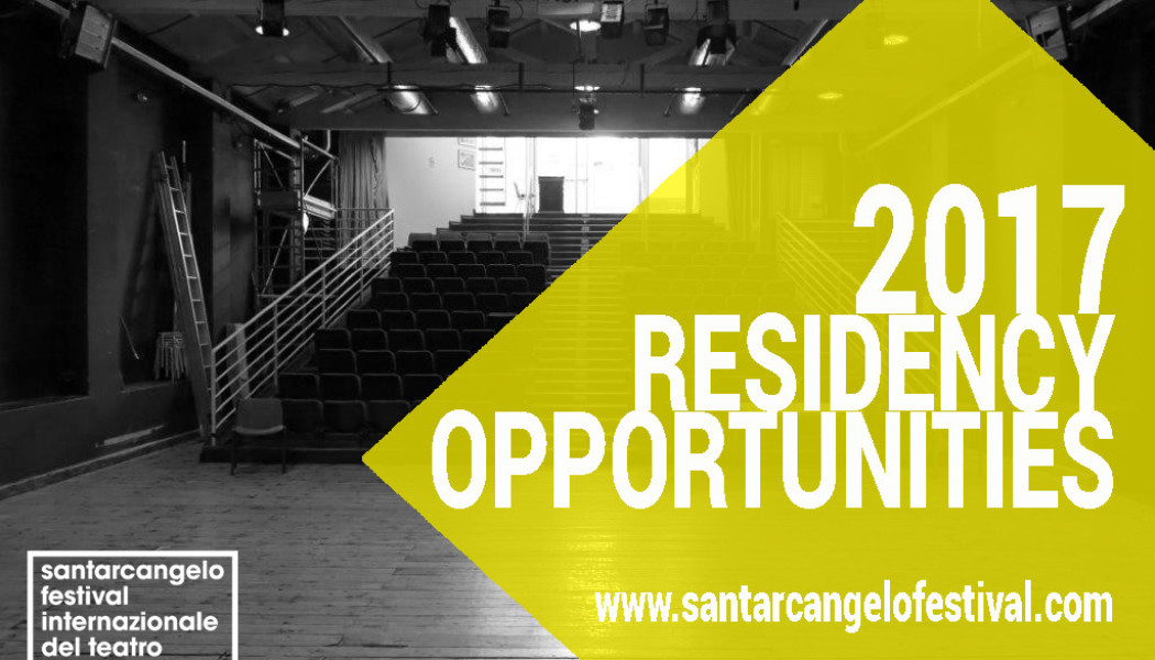 Apply today to the Santarcangelo dei Teatri Residency Open Call 2017