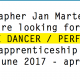 Opportunities: Jan Martens & GRIP -Open Call –  Male Dancer / Performer Apprenticeship Contract (Antwerp)