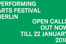 Open Call 2018 Berlin Performing Arts Festival – Deadline January 22, 2018
