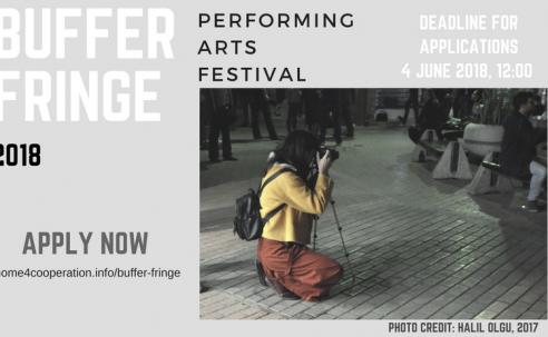 Opportunities:  Open Call, Buffer Fringe Performing Arts Festival V (Nicosia, Cyprus) Deadline – 06/04/2018