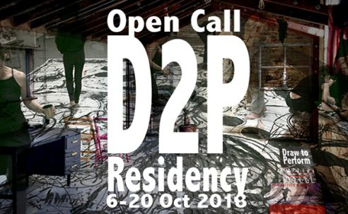 Opportunities: Draw to Perform Residency for Drawing Performance (Copperdollar Studios, 22 Montague St, Brighton BN2 1JX) Deadline – Thursday 30 August 2018 11:00am BST