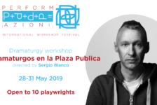 Opportunities: OPEN CALL – 10 DRAMATURGOS EN LA PLAZA PUBLICA (Bologna, Italy) Deadline – 30th April 2019