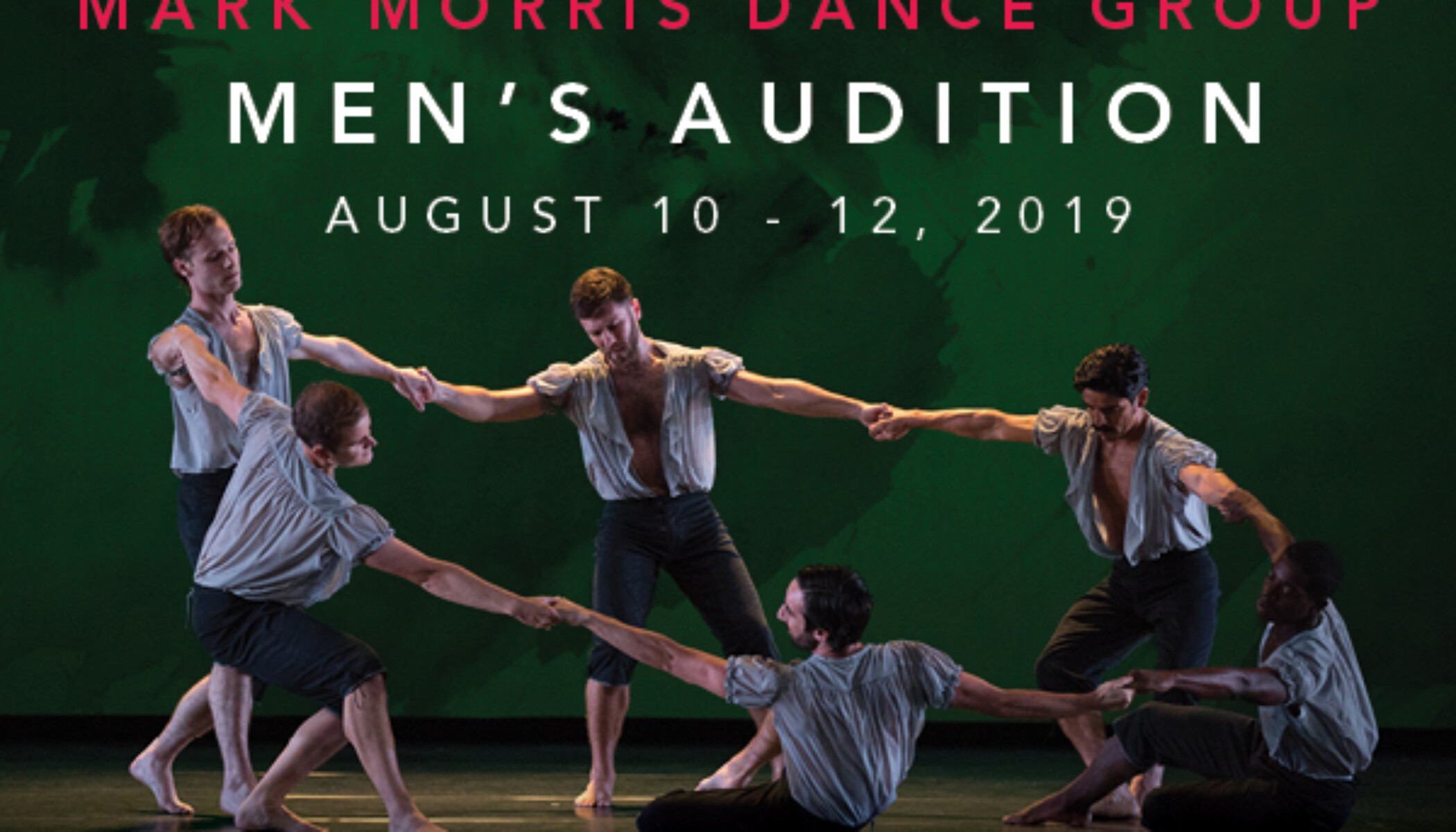Opportunities: Mark Morris Dance Group Men's Audition (Mark