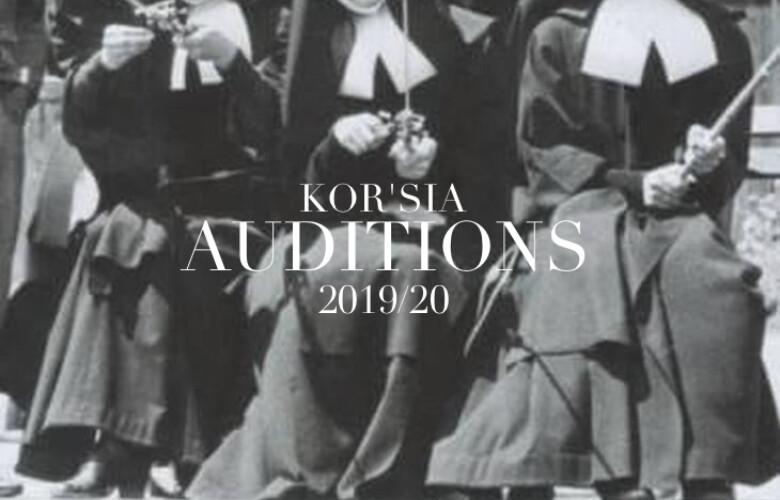 Opportunities: KOR'SIA  AUDITIONS (Madrid) Deadline – 1th  OCTOBER 2019