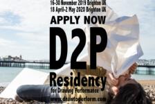 Opportunities: The Draw to Perform residency program for Drawing Performance practice (Copperdollar Studios, Brighton UK) Deadline – No deadline