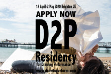 Opportunities: The Draw to Perform residency program for Drawing Performance (Brighton, UK) Deadline – No Deadline