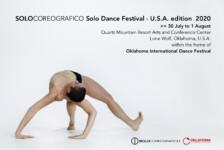 Opportunities: Call for Applications – SOLOCOREOGRAFICO Solo Dance Festival USA edition 2020 (Quartz Mountain, OK) Deadline – 26th of April 2020